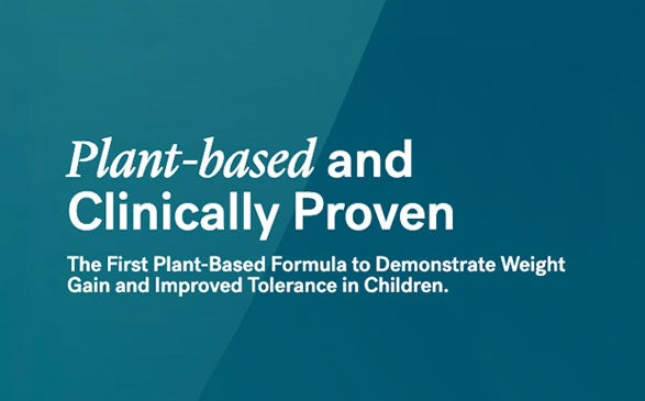 Kate Farms Releases First Study Demonstrating Pediatric Weight Gain and Improved Tolerance on Plant-Based Enteral Formula